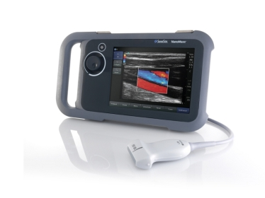 Picture of a similar model portable ultrasound that is being used at ARHT by HEMS physicians