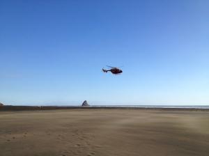 Westpac Rescue Helicopter, Karekare