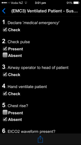 interactive checklists